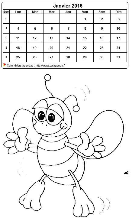 Calendriers Pour Enfants Mensuel 2016 2017 | Search Results | Calendar ...