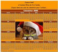 Calendrier 2015 spécial fêtes