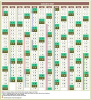 Modèle par défaut (9) de 12 colonnes, avec agenda synthétique