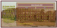 Calendrier à imprimer bimestriel, format mini de poche, avec photo