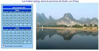 Calendrier bimestriel, format paysage, avec photo à droite