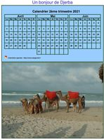 calendrier trimestriel